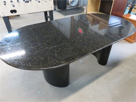 Faux Granite Conference Table