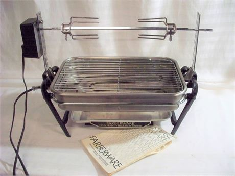 FARBERWARE 400 SERIES OPEN HEARTH BROILER/ROTISSERIE