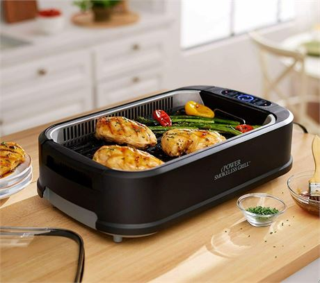 Power Smokeless Grill Deluxe