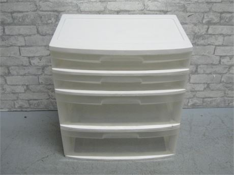 4-TIER STERILITE STACKABLE MODULAR STORAGE BIN