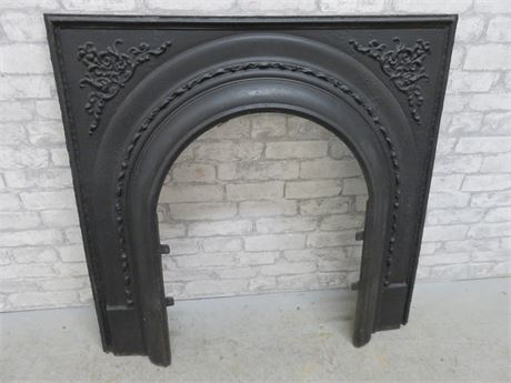 Cast Iron Fireplace Frame
