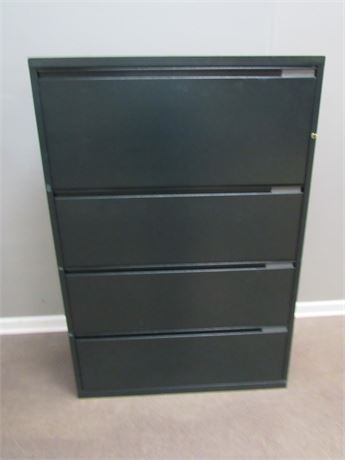 4-Drawer Metal Lateral File Cabinet