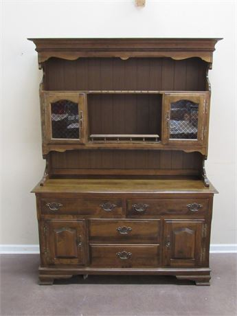 NICE HEYWOOD WAKEFIELD PUBLIK HOUSE COLLECTION CHINA HUTCH