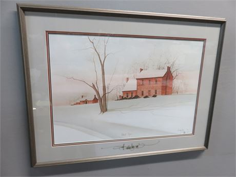 """P. BUCKLEY MOSS """"Walnut Grove"""" Limited Edition Lithograph"""
