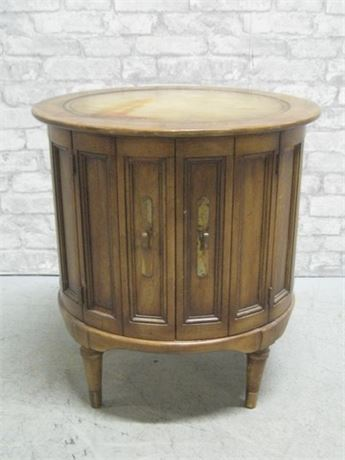 DRUM END/SIDE TABLE