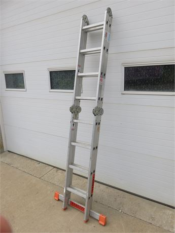 KRAUSE Multi-Matic Aluminum Folding Ladder