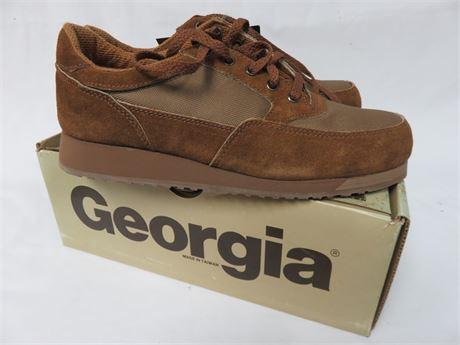 GEORGIA Men's Steel Toe Work Shoes - SIZE 8.5M