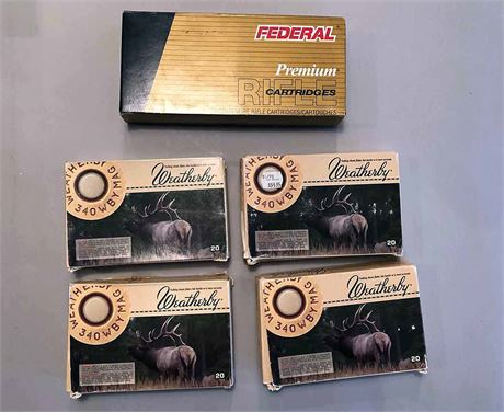 .340Weatherby Federal & Weatherby Ammunition