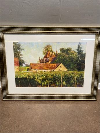 Chateau at Buxy Framed Wall Art