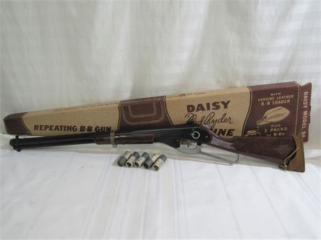 You'll Shoot Your Eye Out! - Vintage Daisy Model #94 Red Ryder Carbine B-B Gun