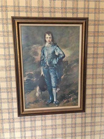 """The Blue Boy"" Thomas Gainsborough Print"