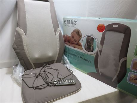 HOMEDICS Full Back Shiatsu Massage Cushion with Heat
