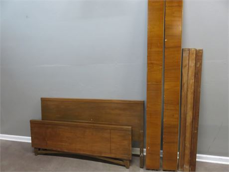 Mid-Century Full Bed