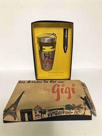 Vintage Gigi Bar Set