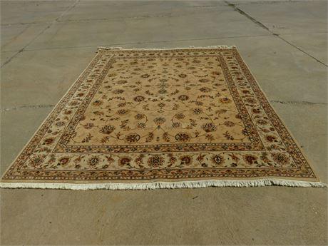 8X10 100% Wool Area Rug