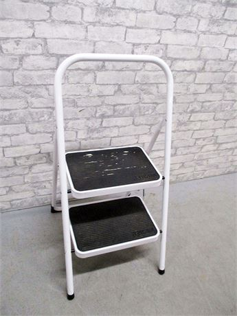 Peachy Transitional Design Online Auctions Tricam Folding Step Ladder Machost Co Dining Chair Design Ideas Machostcouk