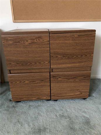 Wood File Cabinets