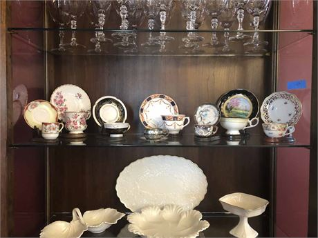 Tea Cup Collection w/Stands