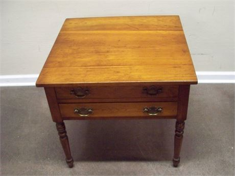 LEOPOLD STICKLEY END TABLE