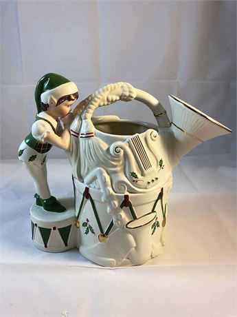 Lenox Holiday French Horn Pitcher