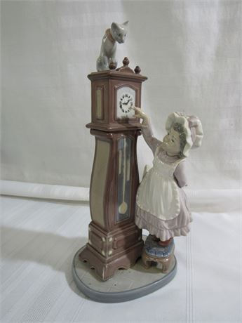 LARGE LLADRO FIGURINE - BEDTIME WITH BOX