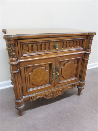 UNIQUE MASTER WOODWORKERS Cherry Nightstand