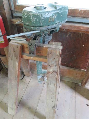 Vintage Elgin Outboard Motor