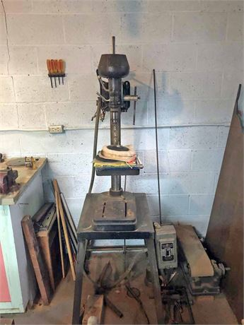 Boyce Crane Drill Press