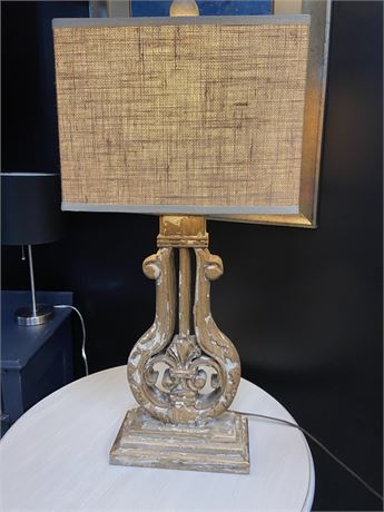 Neoclassical key Lamp with Lamp Shade