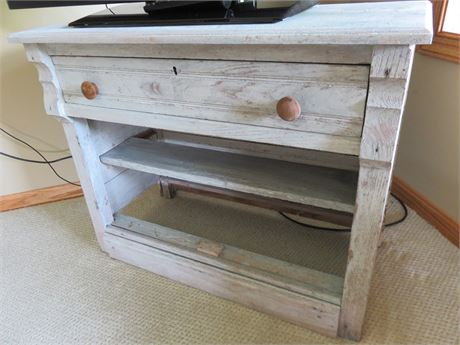 Rustic TV Stand