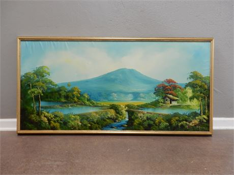 Vintage Signed Oil Painting