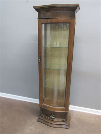 Nice Lighted Curio Cabinet
