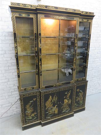 DREXEL HERITAGE Asian Style China Hutch