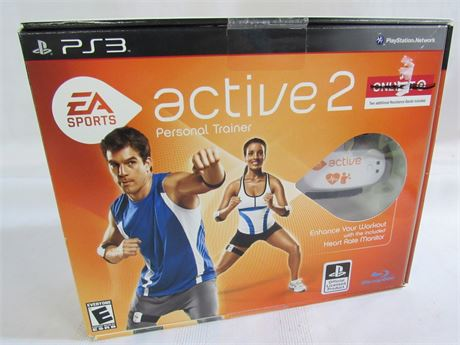 EA Sports Active 2 PS3 Personal Trainer with Heart Rate Monitor & Motion Sensors