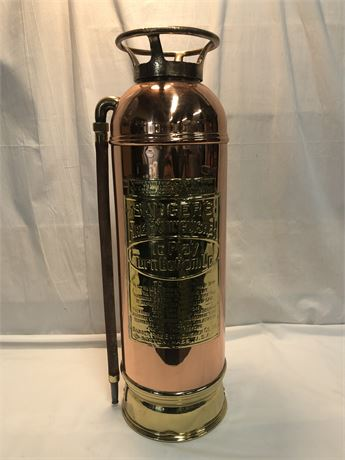 Vintage Badgers Fire Extinguisher