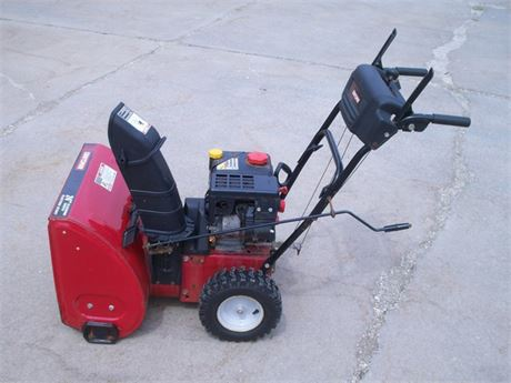 "CRAFTSMAN 24"" ELECTRIC START SNOWBLOWER"