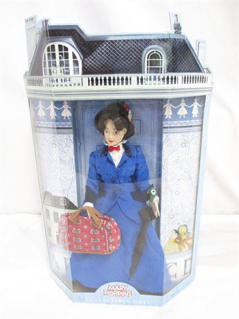 MARY POPPINS COLLECTIBLE DOLL NEW IN BOX