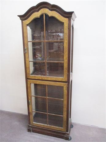 "VINTAGE JASPER CABINET ""ST. ALBANS"" COLLECTION CURIO"