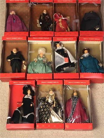 Original Peggy Nisbet Historical Dolls