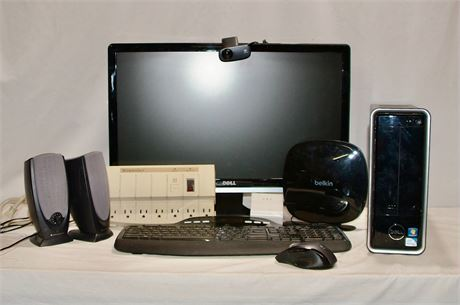 Dell Computer with Complete Set Up