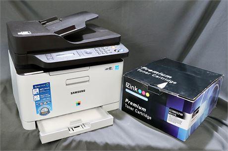 Samsung Electronics Xpress SL-C440FW/XAA Wireless Color Printer and EZ Ink