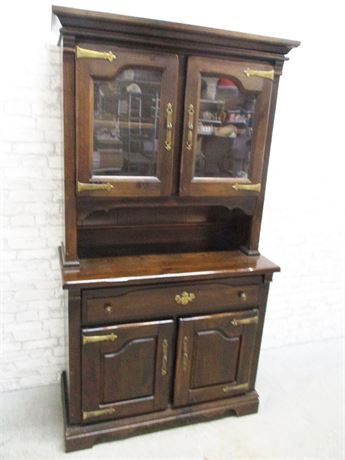 VINTAGE VIRGINIA HOUSE HUTCH