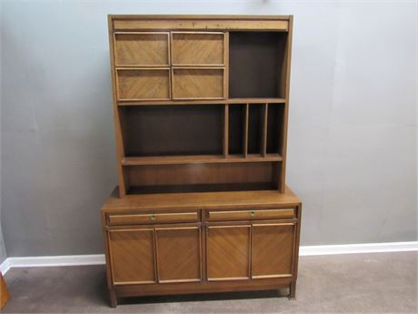 Vintage American of Martinsville Mid Century China Hutch