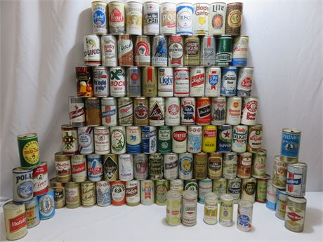 Beer Can Collection - Over 100 Cans