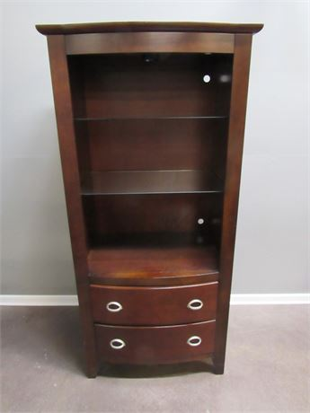 GREAT LOOKING FAIRMONT DESIGNS STORAGE/DISPLAY CABINET