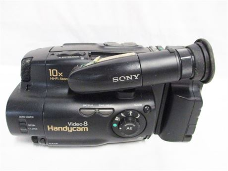 SONY HANDYCAM VIDEO 8 CAMERA