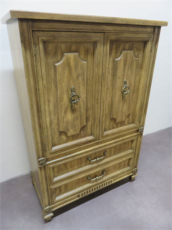 AMERICAN OF MARTINSVILLE Highboy Armoire
