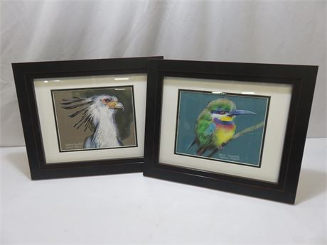 DAVID RANKIN Artist Proof Watercolor Bird Images (Signed)