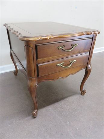 HAMMARY French Provincial End Table