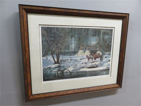 "FRED FELLOWS ""His First Snow"" Limited Edition Print"